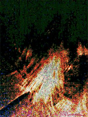 gold, golden, grass, digital, art, photo, lines, squares, boxes, dash, line, abstract, fire, spark, sparks, suzanne, coleman, artofageniusmind, nature, illinois, prairie