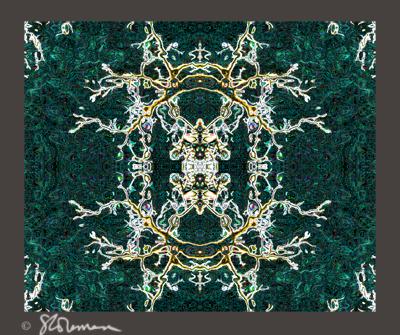 jade, design, rug, turkish, details, nature, theme, grey, border, digital, art, photo, original, fractal, tree, branch, imagination